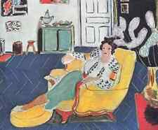 Henri Matisse Young Girl With A Yellow Sofa A4 Photo Print