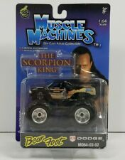 2003 Muscle Machines Monster Truck Scorpion King Dodge Bear Foot 1:64 Scale