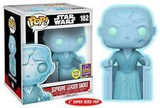 SDCC ESCLUSIVO Star Wars Supremo CAPO Snoke 15.2Cm POP VINILE Statuetta Funko