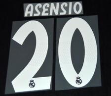Real Madrid Asensio 2018/19 Camiseta De Fútbol Nombre/Número Set Sporting Id Adulto un