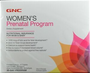 GNC WOMEN'S PRENATAL PROGRAM 30 Days Program