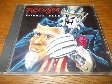 LEON'S SALE:ACCUSER-DOUBLE TALK 1991 CD REISSUE