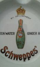A Nice Pictorial Schweppes Hamilton Soda Water Ashtray
