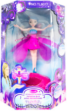 WIRELESS FLYING FAIRY PINK PRINCESS GIRLS TOY DOLL XMAS GIFT UK STOCK KIDS