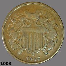 1867 2 cent, partial motto