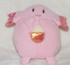 Pokemon Battle Go Chansey Plush Figure Applause Stuffed Bean Bag Toy Doll Pink