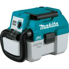 Makita Canister Vacuum 18-Volt Lithium-Ion Portable Wet/Dry (Tool Only)