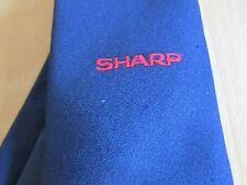 SHARP Electronics Company STAFF Issue Tie by Triad