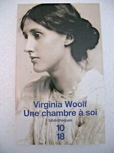 Virginia WOOLF Une chambre à soi DENOËL Editeur 2009 Parfait état