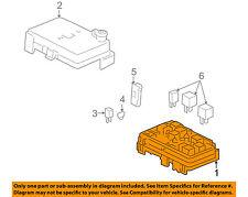 Pontiac GM OEM 07-09 G5 Electrical-Fuse & Relay Box 25825002