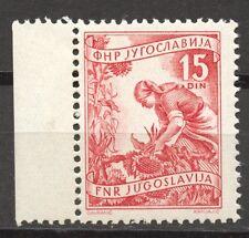 Yugoslavia 1952 Definitives 15 Dinar red, MNH, no faults