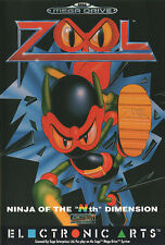 # Sega Mega Drive-Zool: Ninja of the 'n' th dimensión-Top/MD juego #