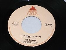 Sylvers: I'll Never Be Ashamed / Stay Away From Me  [Unplayed Copy]