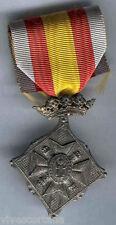 España Medalla Militar Centenario del sitio de Gerona 1909 categoria plata