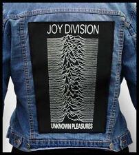 JOY DIVISION - Unknown Pleasures  --- Back Jacket Patch backpatch