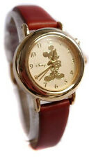 NEW & BOXED Disney MICKEY Collection Gold Watch MU0668