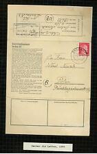 1943 Germany Dachau Concentration Camp KL letter Cover prisoner Bohoslav Benesch