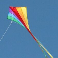 Kinderdrachen Eddy Rainbow 70 x 58cm Einleiner Drachen Flugdrachen Eddydrachen
