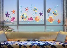 Ocean Sea Fish Wall Decor Vinyl Decal Sticker Removable Nursery Kids Art DIY #3