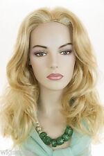 Glamorous and Feminine! Long Straight - Wavy Blonde Brunette Red Skin Top Wigs