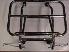 Vespa PX PE Lambretta Front Folding Carrier Rack Chrome - short legs (3AA301)