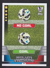 Match Attax 2014/2015 - Tactic Card - T4 Goal Line Technology