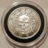 "NEW!! Memento Mori "" Carpe Diem "" BU 2 oz .999 Silver Coin Horseman skull rider"