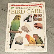 Complete Guide to Bird Care Book Pet Bird