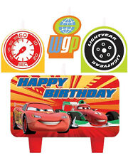Disney Cars 2 Kid Birthday Party Cake 4 Pieces Set Candles