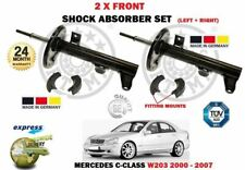 FOR MERCEDES C200 C220 C270 C320 CDI KOMPRESS 2000-> 2X FRONT SHOCK ABSORBER SET
