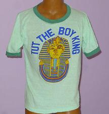 King Tut Vintage T-Shirt 1970s Ringer Soft Tee Rare Tour Souvenir Size L