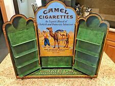 Vintage Camel Cigarettes Metal Tin Zippo Display 85 Years 1913-1998 Catalog
