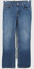 Raph Lauren Polo Jeans Sz 10 x 34 Womens Stretch Kelly Zip Fly Bootcut