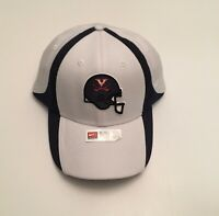 R1) University of Virginia UVA Cavaliers Nike Football White Small Medium Hat