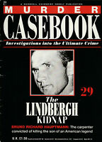 MURDER CASEBOOK Magazine Issue 29 - The Lindbergh Kidnap (1990)