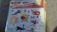 Disney planes characters sticker 2 sheets with 33  stickers