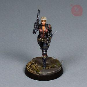 Kara Swole- Agentess-  Character Imperial Sister Assassin