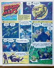 Beyond Mars by Jack Williamson - Army Times full tab Sunday page - June 13, 1954