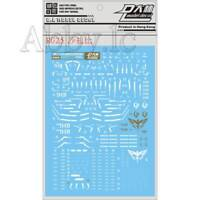 DL Water Decal Stickers for Bandai RG 1/144 MSN-04 Sazabi Gundam Model Gunpla