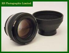 Nikon Noct-Nikkor 58mm F1.2, Fast Prime Lens.