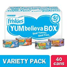 New listing Purina Friskies Wet Cat Food Variety Pack New! 40 Cans
