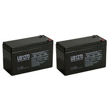 UPG 2 Pack - UltraTech UT1270 12V 7 Ah Sealed Lead Acid Alarm Battery UT-1270