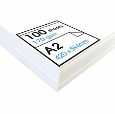 170gsm - A2 Acid Free Cartridge Paper for Drawing - Loose Sheets (100 SHEETS )