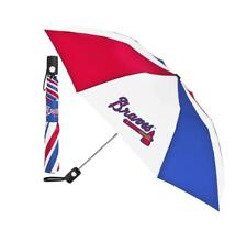 Atlanta Braves XLarge Auto Golf Umbrella - Coverage 55 in - 68in