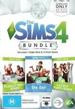 The Sims 4 Bundle 1 Spa Day Add on Download Code Only for PC Orig Aus Vers