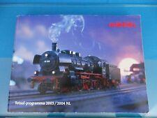 Marklin Katalog Catalog 2003/2004 NL