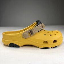 Crocs All Terrain Iconic Comfort Lightweight Clog 'Bright Yellow' Men Size 7-10