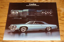 Original 1973 Pontiac Catalina Sales Brochure 73
