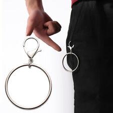 Schwarz Auto Schlüsselanhänger Kunstleder Inhaber Tasche Geldbörse Tasche CR