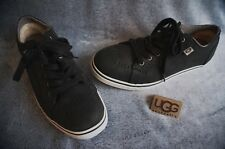 "UGG AUSTRALIA ROXFORD SNEAKERS, Mens: US 12 , Color: BLACK, 1001569   ""NEW"""